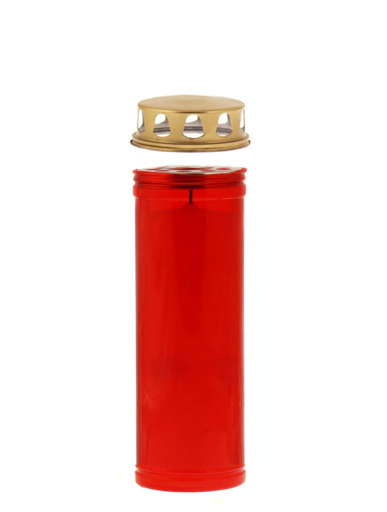 Κερί διαρκείας 60/8 κόκκινο