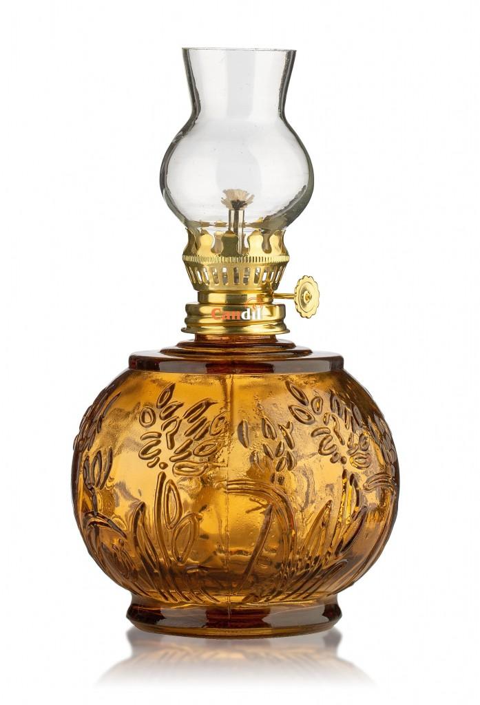 Lampada di paraffina liquida fiore miele
