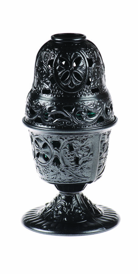 Black KT Vigil oil lamp
