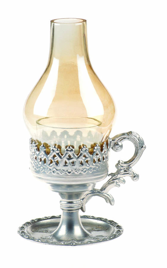 Vigil oil lamp 3019 silver