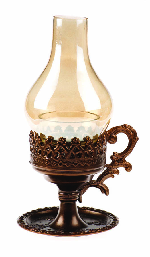 Vigil oil lamp 3019 brown