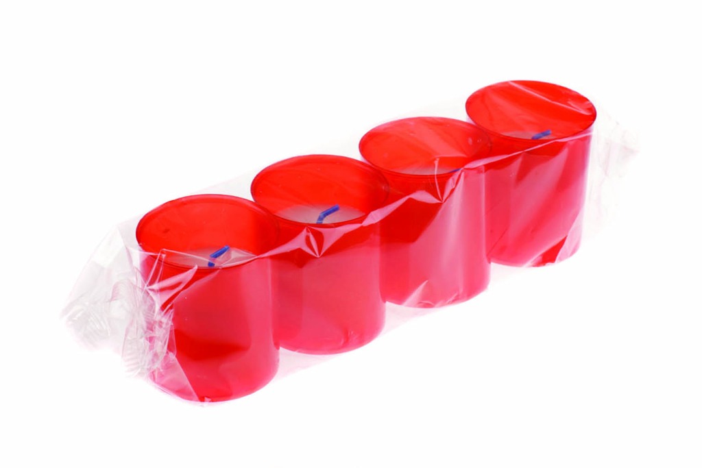 Candle 10B red