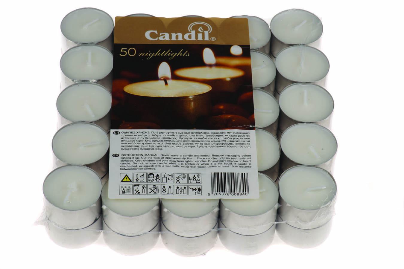 Κεράκια ρεσώ CANDIL – Nightlights