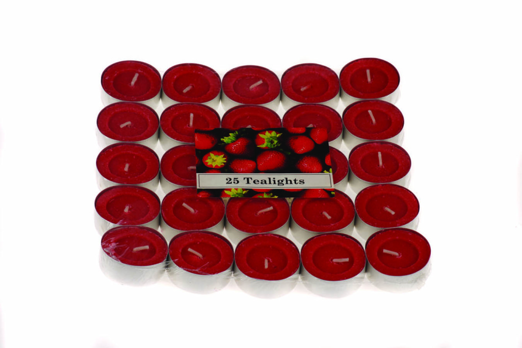 Tealight profumati Fragola