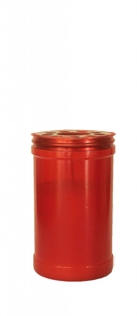 Candle 40/8 red