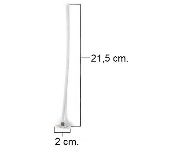 LX 21,5cm Pretabbed Wick