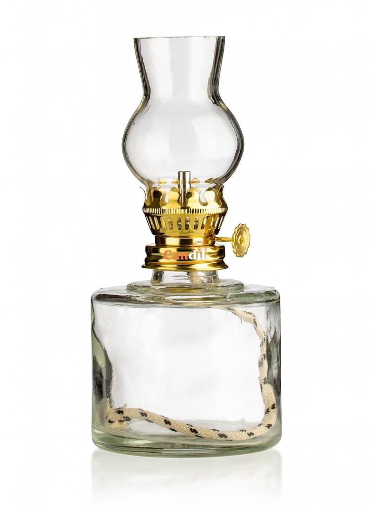 Oil lamp small barrel