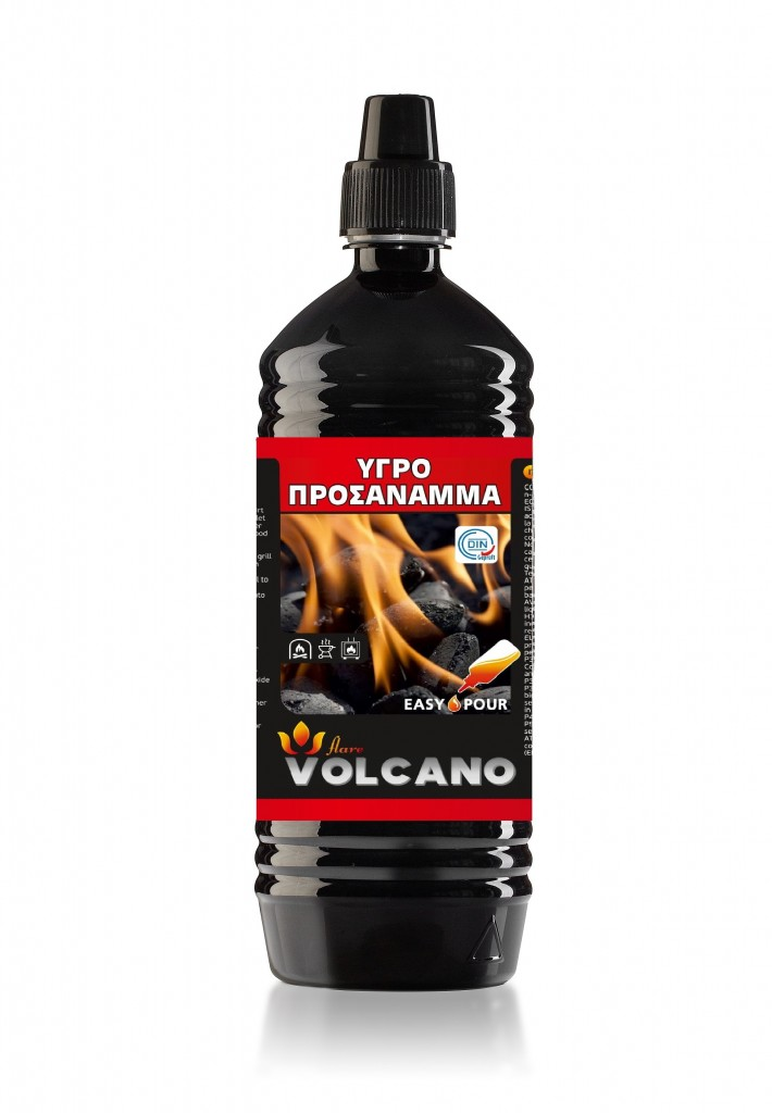Liquid firelighter VOLCANO 1Lt.