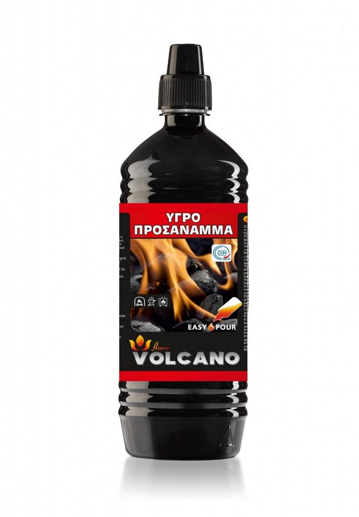 Υγρό προσάναμμα VOLCANO 1Lt.